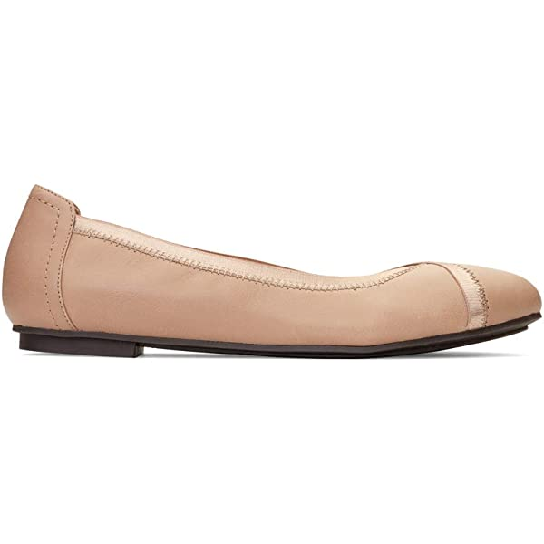 Vionic Womens Spark Surin Ballet Flat Ladies Flats with Concealed Orthotic Arch Support