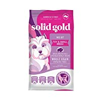 Solid Gold - Wee Bit With Real Bison, Brown Rice & Pearled Barley - Potato Free - Fiber Rich with Probiotic Support - Holistic Dry Dog Food for Small Dogs of All Life Stages, Dry: 4 lb.