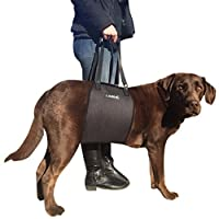 Veterinarian Approved Dog Canine K9 Sling Lift Adjustable Straps Support Harness Helps with Loss of Stability Caused by Joint Injuries and Arthritis ACL Rehabilitation Rehab