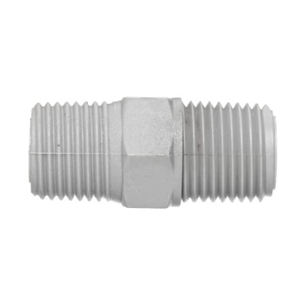 Nipple Connection 1 Male NPT Flow Ezy Filters 1 Male NPT 10 1 NIPPLE 200 All Metal Suction Strainer Inc 200 Mesh Size Cast Aluminum Connector End 10 GPM