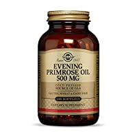 Solgar Evening Primrose Oil 500 mg, 180 Softgels - Promotes Healthy Skin & Cardiovascular Health - Nutritional Support for Women - Gluten Free, Dairy Free - 180 Servings