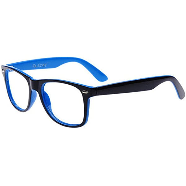 Outray Rectangle Designer Glasses TR90 Frame With Clear Lens Glasses