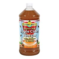 Dynamic Health Labs Apple Cider with Mother and Natural Honey Supplement, 32 Ounce