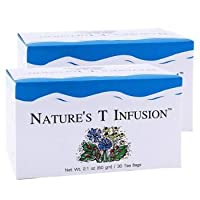 3 BOXES NATURE'S T INFUSION UNICITY, Herbal Tea Detoxification In The Colon