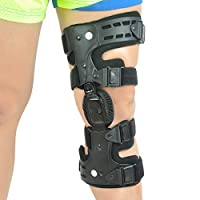 Orthomen Unloader Knee Brace for Osteoarthritis & Preventive Protection from Knee Joint Pain/Degeneration - (Lateral/Outside - Left)