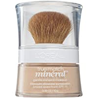 L'Oreal Paris True Match Mineral Loose Powder Foundation Light Ivory, 0.35 Ounce