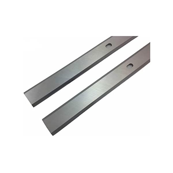Set of 2 WEN 12-1//2 Inch Replacement Thickness Planer Blades for WEN  6550