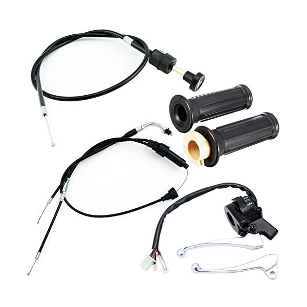 Baosity Black Motor Choke Control Cable Replaces for Yamaha PW50 PY50 PW80