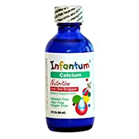 Infantum Calcium, Child/Infant, No Artificial Flavor and Color, Liquid 60 Drops, 2 Fl. Oz (60 ml)