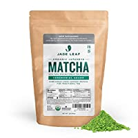 Jade Leaf Ceremonial Grade Matcha Green Tea Powder - Organic, Authentic Japanese Origin - Premium 1st Harvest [16oz]