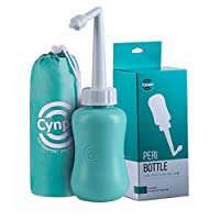 Peri Bottle for Postpartum Perineal Care- Baby Travel Bathing kit, Cleansing for Mom After Birth- Travel Size Cleanser-Portable Bidet for Birth Tears, Hemorrhoids, Pain- (Tiffany Blue)