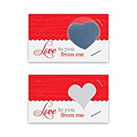 Love Notes Scratch Off Cards Naughty or Nice DIY Kit 25 Pack My Scratch Offs