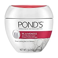 Pond's Rejuveness Anti-Wrinkle Cream Anti-Aging Face Moisturizer With Alpha Hydroxy Acid and Collagen 14.1 oz