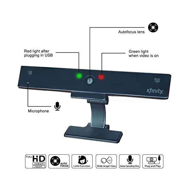 Live Streaming Widescreen Webcam-Suit for Microsoft Teams Conferencing Dingtalk HD 1080p Webcam Computer Camera with Microphone,Laptop USB PC Webcam Recording Pro Video Web Camera for Calling