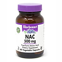 BlueBonnet NAC 500 mg Vitamin Capsules, 60 Count