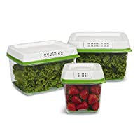 Rubbermaid - 2108388 FreshWorks Produce Saver Food Storage Container,