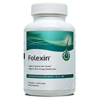 Folexin | Hair Growth Support Formula - Dietary Supplement, 60 Capsules, 1 Month Supply