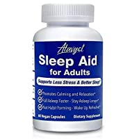 Atavyst Sleep Aid for Adults - Supports Relaxation, Calming and Sleep - Valerian Root, L-Theanine, Melatonin and GABA - Includes Extracts of Chamomile, Passion Flower, Lemon Balm and Hops