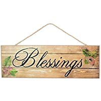 GiftWrap Etc. Blessings Sign Fall Wreath Decor - 15