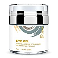 Wumal Eye Gel Cream for Appearance of Dark Circles, Puffiness, Wrinkles and Bags - Effective Anti Aging Eye Cream for Men and Women
