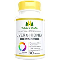 Liver & Kidney Cleanse, Rehmannia Formulation, Promotes Healthy Liver Detoxification and Kidney Purification, Supports Weight Control, 540 Mg, 90 Veggie Capsules, Nature's Health