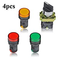Industrial Switches Selector Switches LTD Antrader 6pcs DPST 1NO ...