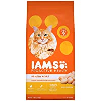 IAMS PROACTIVE HEALTH Adult Healthy Dry Cat Food with Chicken, 7 lb. Bag