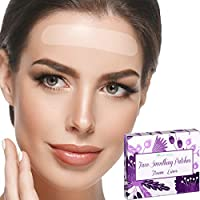 Blumbody Facial Patches Forehead Wrinkle Remover Strips - 75 Forehead Wrinkle Patches - Frown Wrinkle Treatment - Reusable Smoothing Wrinkle Patches for Face