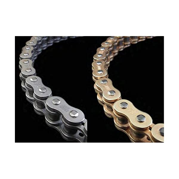 530 Pitch 150 Links Gold O-Ring Chain for Custom Extended Swingarm Motorcycles Bikes