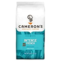 Cameron's Coffee Roasted Ground Coffee Bag, Intense French, 28 Ounce