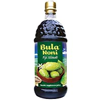 Bula Noni®- 100% Certified Organic Juice   Boosts Immune System (Single 1 Liter Bottle) Packed with Antioxidants for your Wellbeing.