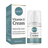 Vitamin E Cream Moisturizing Cream for Dry and Sensitive Skin 3.5 OZ. Soothes & Moisturizes | Allergy Tested | No Artificial Colors | Fragrance-Free