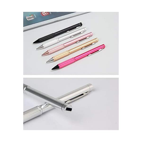 Android Phone Tablet Universal Stylus Comfortable to The Touch Color : Black Screen Stylus Haoyushangmao Active Capacitive Pen iOS