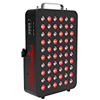 Red Light Therapy Device by Bestqool, 660&850nm Near Infrared Led Light Therapy, Clinical Grade Home Use Light Therapy Lamp with Timer for Anti-Aging, Pain Relief