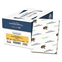 Hammermill - Fore MP Recycled Colored Paper, 20lb, 8-1/2 x 11, Goldenrod, 500/Ream - Sold As 1 Ream - Great for color-coding office documents or adding pizzazz to flyers and other promotions.