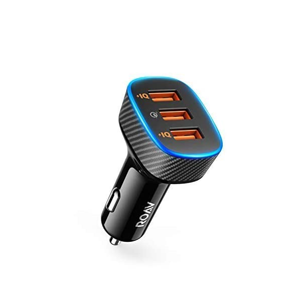 AUX-Out Port and a USB Charging Port Upgraded with Bluetooth 4.1 by Anker Integrated Mic for Hands-Free Calling CSR Bluetooth Chip Roav Bluetooth Receiver Noise-Cancellation