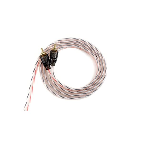 Powerbass ARCA-17 Twisted Pair RCA Cable
