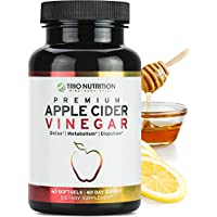 Apple Cider Vinegar Capsules with The Mother | Immune Support Booster | Maximum Strength, Raw, Fresh Natural Apple Cider Vinegar Pills | Cleanse and Detox Boost, Keto & Metabolism Support*