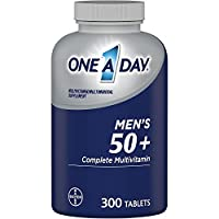 One A Day Men's 50+ Healthy Advantage Multivitamin Multimineral Supplement Tablets,