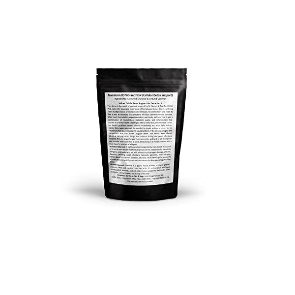 PWZ - Puptection Activated Charcoal for Dogs | Transform K9 Vibrant Flow – Part 1 - Natural Antidote for Poisoning and to Control Diarrhea
