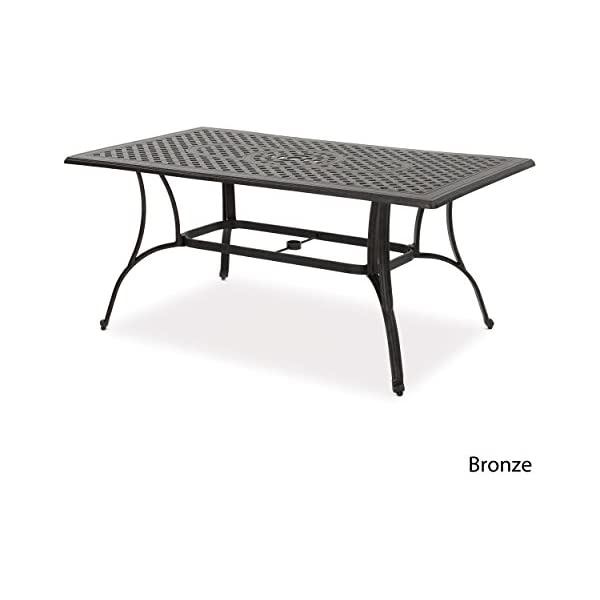 Christopher Knight Home Louis Outdoor 19 Bronze Finished Cast Aluminum Side Table