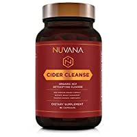 Cider Cleanse | Organic Apple Cider Vinegar w/The Mother, Ginger, Cinnamon, Cayenne Pepper and Vitamin C | Max Strength Thermogenic for Improved Digestion and Detox | 90 Vegan Capsules