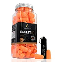 Ear Plugs for Sleeping Block Out Snoring, Premium Thermo Foam Noise Reduction and Cancelling Earplugs for Shooting Range Loud Events Construction Work Study by Jourdak New SNR 36db 60Pair
