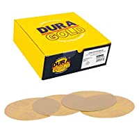 - Box of 25 Total Sandpaper Finishing Discs 80, 120, 220, 320, 400 PSA Self Adhesive Stickyback Sanding Discs 5 of Each grit Variety//Assortment Pack 6 Green Film Premium Film Back Dura-Gold