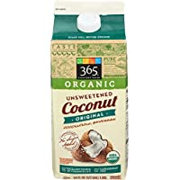 365 Everyday Value, Organic Unsweetened Original Coconut milk Beverage, 64 fl oz