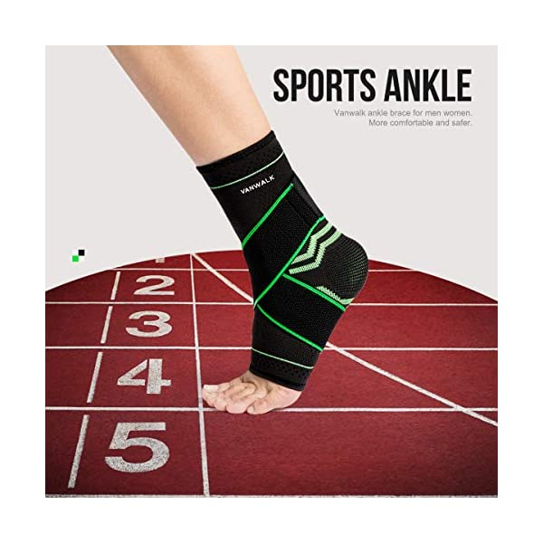 Basketball Vitoki Ankle Brace Ankle Wrap Sprains Injury Recovery Lace Up Adjustable Support For Running