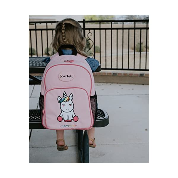mommore Cute Unicorn Kids Backpack Preschool Toddler Backpack for 3-7 Years Old