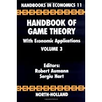 Handbook of Game Theory with Economic Applications (Volume 3)