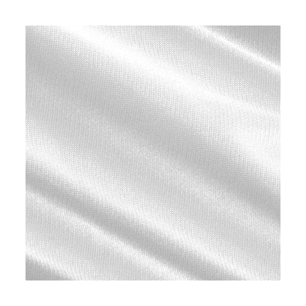 Ben Textiles 0448619 120in Sheer Voile White Fabric by The Yard