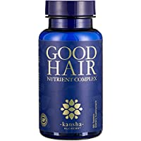 Good Hair Growth Vitamins with DHT Blocker and Biotin for Longer, Stronger, Healthier Hair with Folic Acid, Saw Palmetto, Vitamins A, C, E - for Men and Women - for Better Hair Skin Nails, 60 Tablets